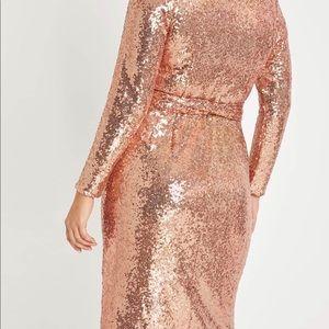 Eloquii Dresses - Cocktail wrap dress